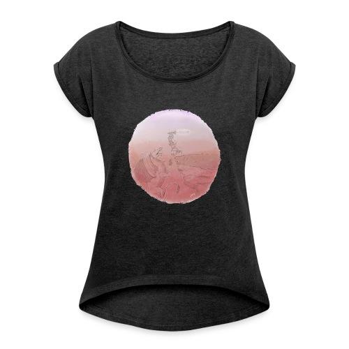 Kill The Dragon - T-shirt à manches retroussées Femme