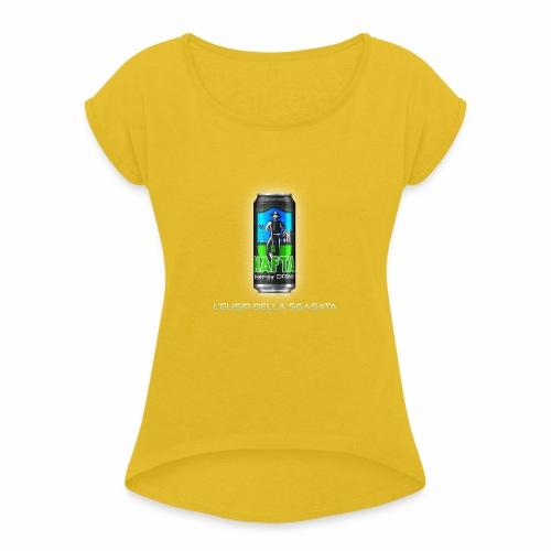Nafta Energy Drink - Maglietta da donna con risvolti
