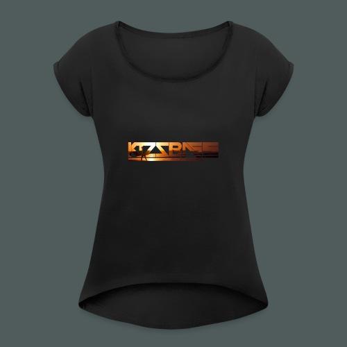 Camiseta KizzBass (Diseño Verano) - Camiseta con manga enrollada mujer