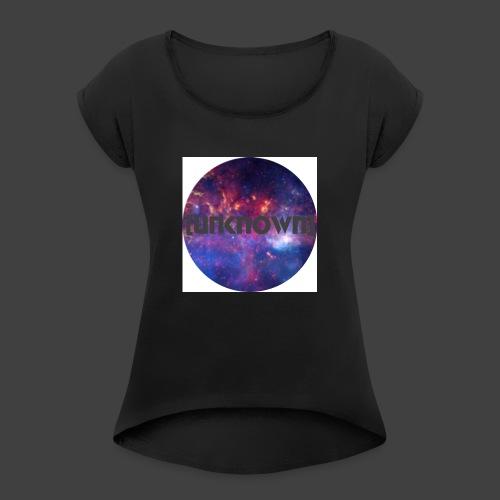 [UNKNOWN] Badget - Dame T-shirt med rulleærmer