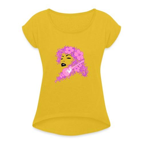 Lady Flo - Maglietta da donna con risvolti
