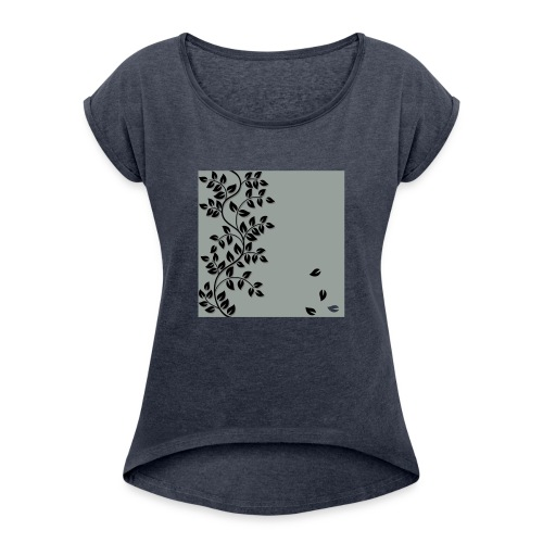 onboarding - Women's T-Shirt with rolled up sleeves