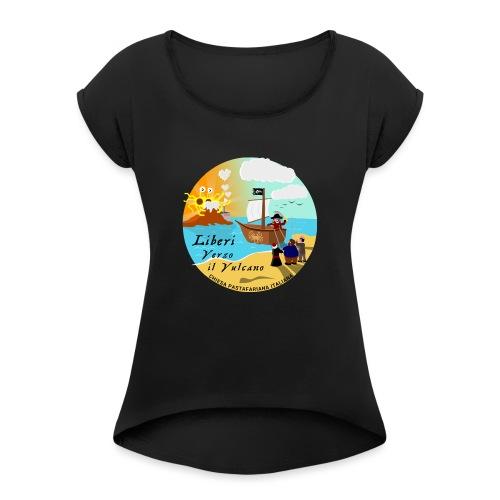 Verso_il_Vulcano_SHOP_DEF - Maglietta da donna con risvolti