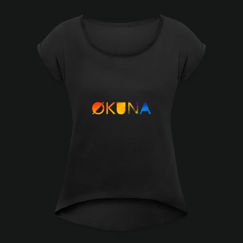 ØKUNA - classic - T-shirt à manches retroussées Femme