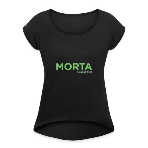MORTA - Maglietta da donna con risvolti