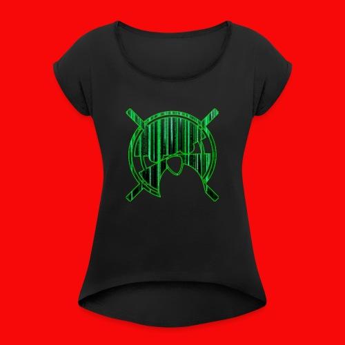 linux-Geek - T-shirt à manches retroussées Femme