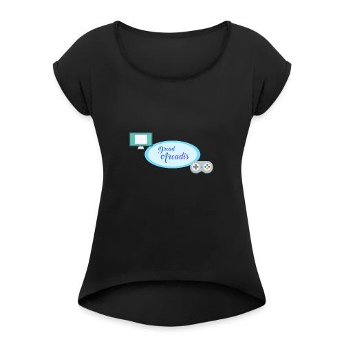 DreadChannel - T-shirt à manches retroussées Femme