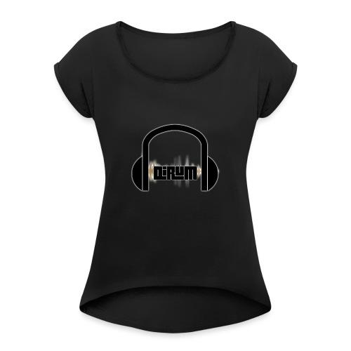 sound dirum - Frauen T-Shirt mit gerollten Ärmeln