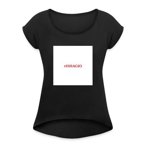 COLLEZIONE UNISEX #DISAGIO - Maglietta da donna con risvolti