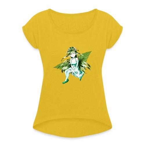 Minto - Maglietta da donna con risvolti