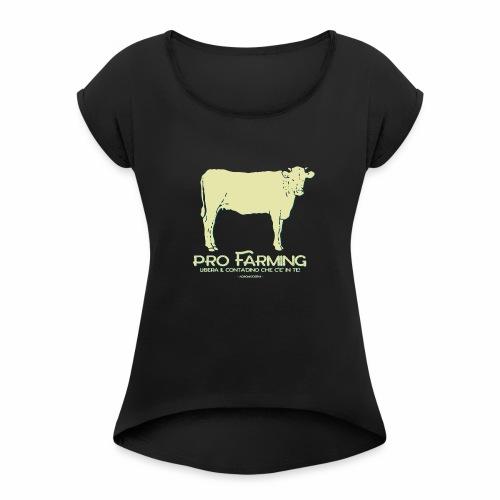 PRO Farming - Maglietta da donna con risvolti