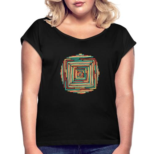 Just Happened - Women's T-Shirt with rolled up sleeves