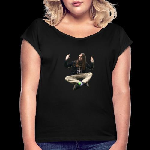 John Essle och Hans Orkester - T-shirt med upprullade ärmar dam