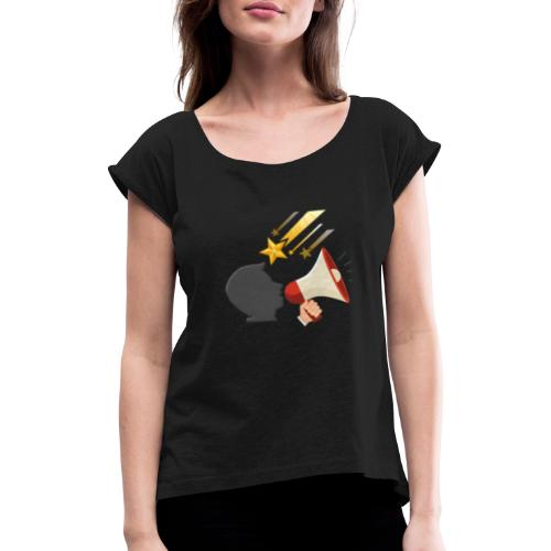 Christian Youtubers - Women's T-Shirt with rolled up sleeves