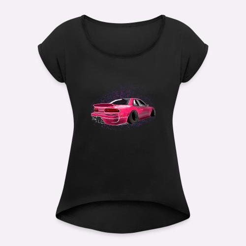S13 Design S-châssis - T-shirt à manches retroussées Femme
