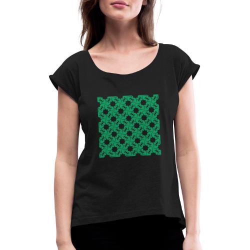 Saint Patrick - T-shirt à manches retroussées Femme