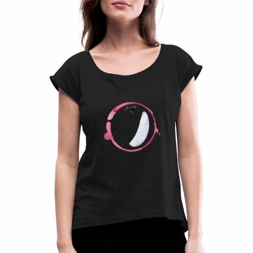 para vin - T-shirt à manches retroussées Femme