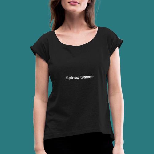 PicsArt 06 03 07 44 25 - Vrouwen T-shirt met opgerolde mouwen