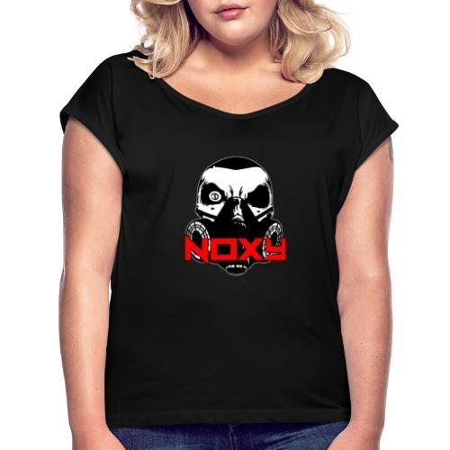 Noxy - Maglietta da donna con risvolti