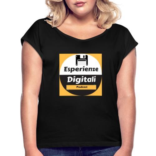 Logo Esperienze Digitali - Maglietta da donna con risvolti