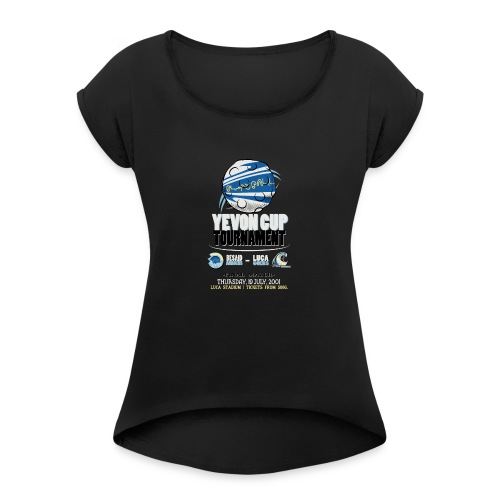 Blitzball Finals Yevon Cup Royal Blue - Women's T-Shirt with rolled up sleeves