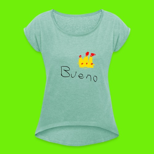 King Bueno Classic Merch - Women's T-Shirt with rolled up sleeves