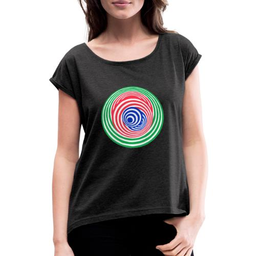 Tricky - Women's T-Shirt with rolled up sleeves