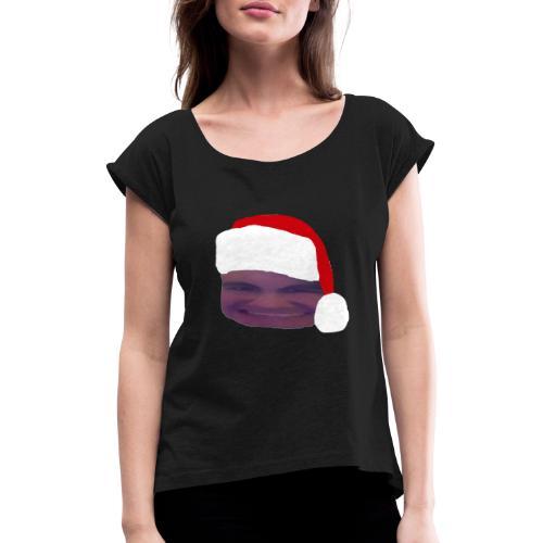 Tomte Affie - T-shirt med upprullade ärmar dam