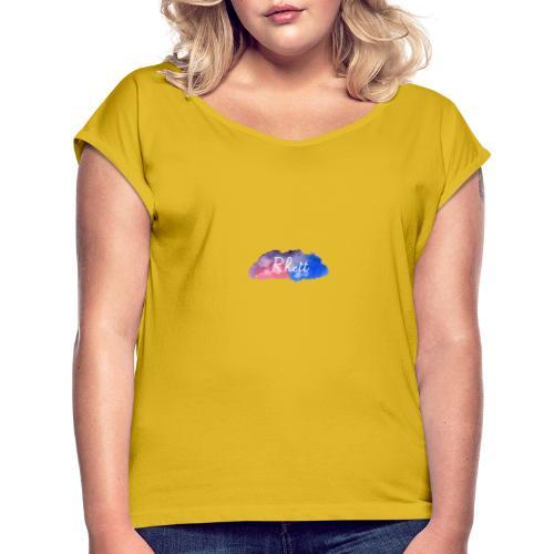 Rhett.official - Frauen T-Shirt mit gerollten Ärmeln