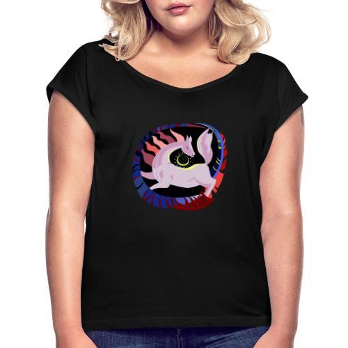 Spirale infinita - Maglietta da donna con risvolti