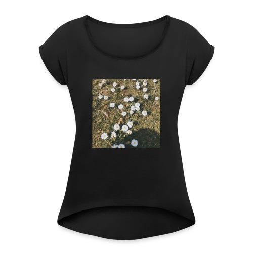 Papatya - Frauen T-Shirt mit gerollten Ärmeln