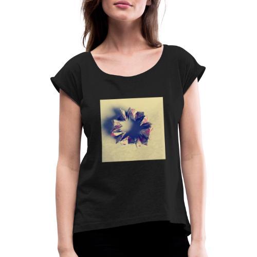 Bild Oregami - Frauen T-Shirt mit gerollten Ärmeln