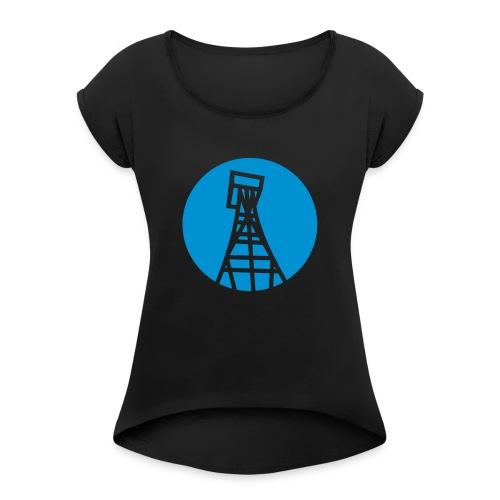Trittau Online Tasse - Frauen T-Shirt mit gerollten Ärmeln