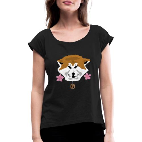 Akita - Maglietta da donna con risvolti