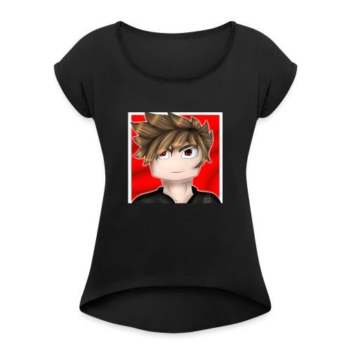 Camiseta Anime Profile Picture - Camiseta con manga enrollada mujer