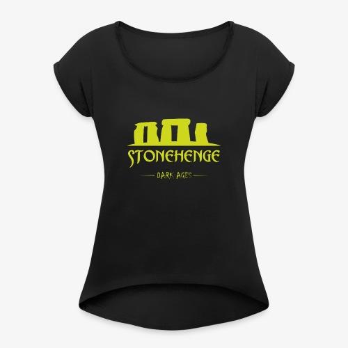 STONEHENGE - Maglietta da donna con risvolti