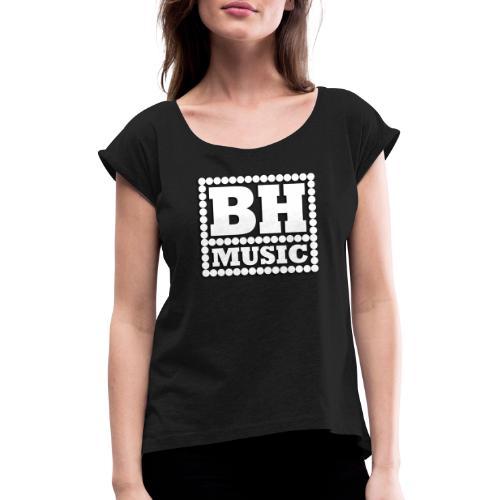 Blechhauf'n - Frauen T-Shirt mit gerollten Ärmeln