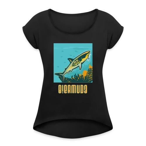 B!ermuda T shirt - T-shirt à manches retroussées Femme