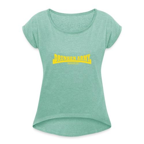 BDA Classic - Dame T-shirt med rulleærmer