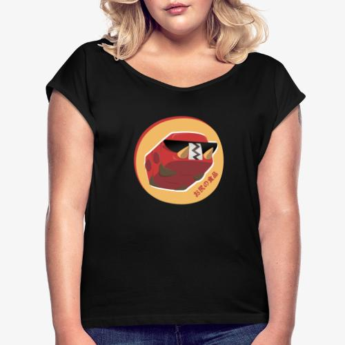 Dark Chrysapile - T-shirt à manches retroussées Femme