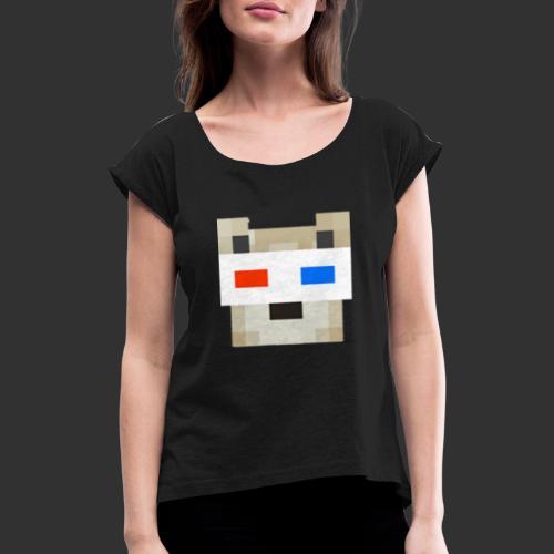 JRG logo Merch. - Vrouwen T-shirt met opgerolde mouwen