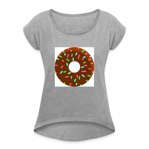 unnamed - Women's T-Shirt with rolled up sleeves
