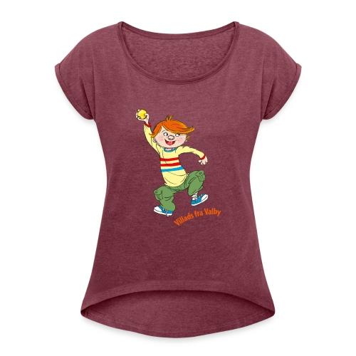 Villads fra Valby - Dame T-shirt med rulleærmer