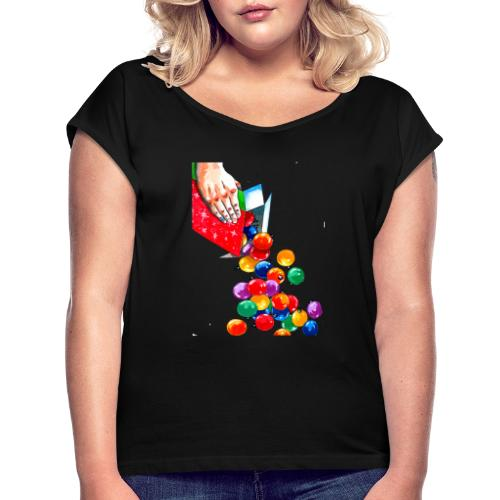 X ereals - Women's T-Shirt with rolled up sleeves