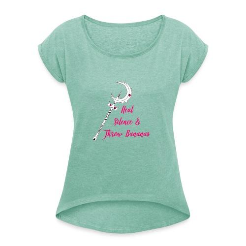 Soraka Main - Frauen T-Shirt mit gerollten Ärmeln
