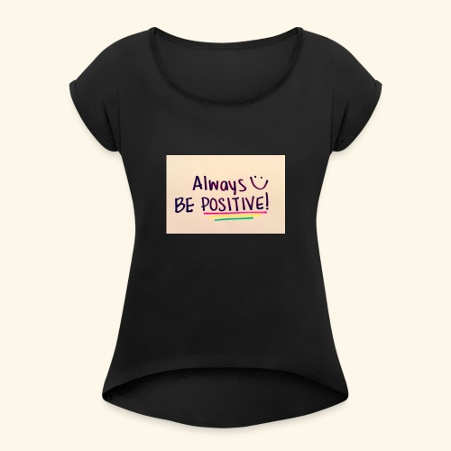 ayaanlelmited.co.uk - Women's T-Shirt with rolled up sleeves