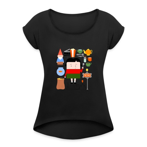 La Petite Amélie completa - women - Camiseta con manga enrollada mujer