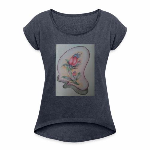 fiore magico - Maglietta da donna con risvolti