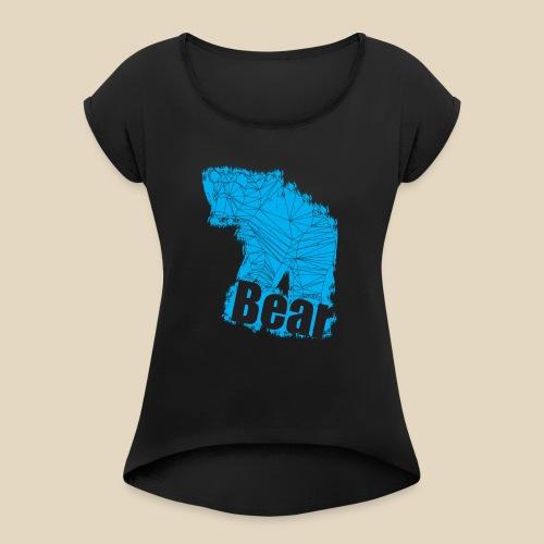 Blue Bear - T-shirt à manches retroussées Femme