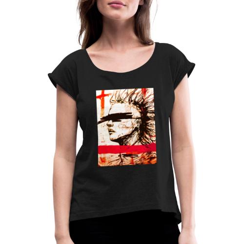 Blind - Women's T-Shirt with rolled up sleeves